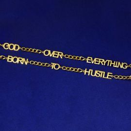 Personalize Custom Letters Cuban Necklace