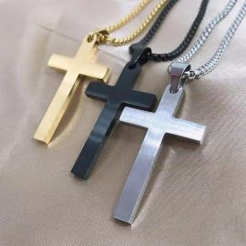 The Lord's Prayer Cross Pendant