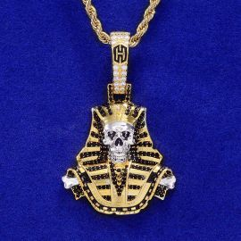 Iced Skeleton Pharaoh in Gold
