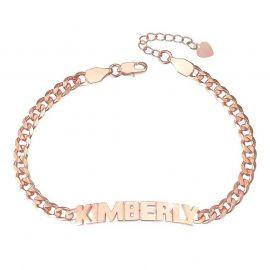 Personalized Capital Letter Name Bracelet
