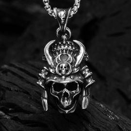 Ghost Warrior Stainless Steel Skull Pendant