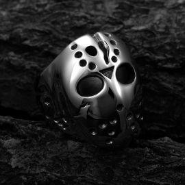 Horror Killer Mask Stainless Steel Ring