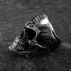 Steampunk Stainless Steel Skull Ring
