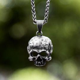 Punk Skull Stainless Steel Pendant