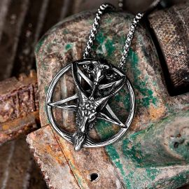 Baphomet Stainless Steel Satan Pendant