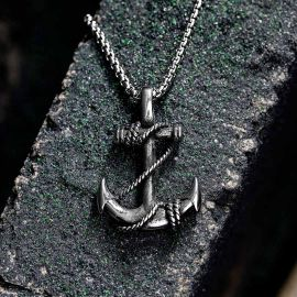 Anchor Stainless Steel Marine Pendant