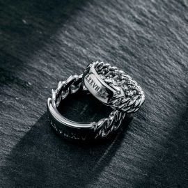 Couple Personalized Engraved Cuban ID Ring