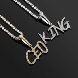 The Newest Custom Name Letters Pendant