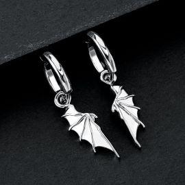 Devil Wing Dangle Earrings