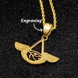 Eye of Horus Wings Pendant