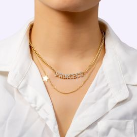 Women's Princess Layered Necklace