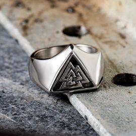 Valknut  Viking Stainless Steel Ring