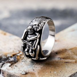 Sexy Hug Stainless Steel Ring