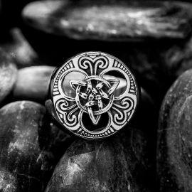 Viking Celtic Knot Stainless Steel Ring