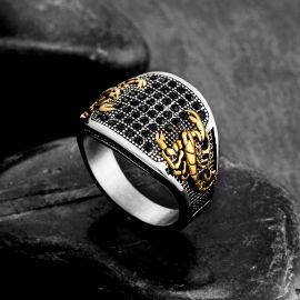 Scorpion Stainless Steel Ring