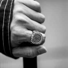 Vegvisir Stainless Steel Ring