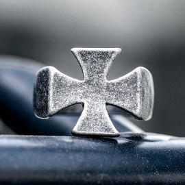 Classic Iron Cross Stainless Steel  Ring