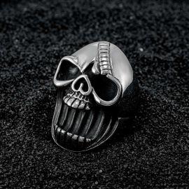 Dark Skull Stainless Steel Ring
