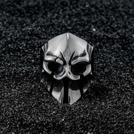 Spartan Skull Stainless Steel Ring