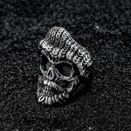 Pirate Skull Stainless Steel Ring