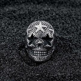 Star Skull Stainless Steel Ring