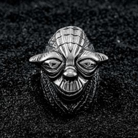 Vintage Wizard  Stainless Steel Ring