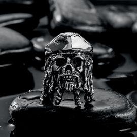 Captain Jack Stainless Steel Ring