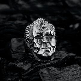 The Devil Satan Stainless Steel Ring