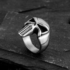 Evil Skull Stainless Steel Ring