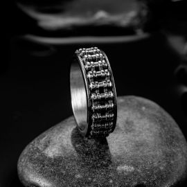 Gear Stainless Steel Ring