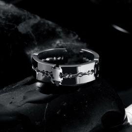 Adjustable Blade Stainless Steel Ring