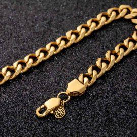 9mm Cuban Bracelet in Gold