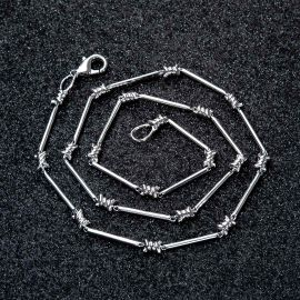 Thorns Barb Wire Necklace