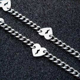 8mm Broken Heart Cuban Chain