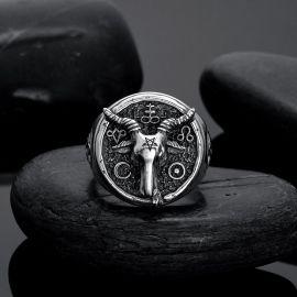 Satanic Goat Ring