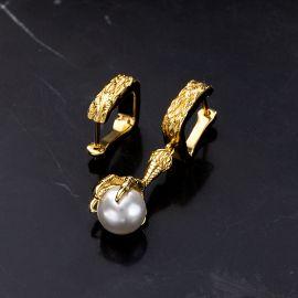 Dragon Claw Pearl Earrings