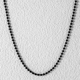 3mm Steel Bead Chain in Black Gold