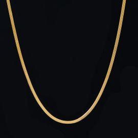 2mm Herribone Chain in Gold