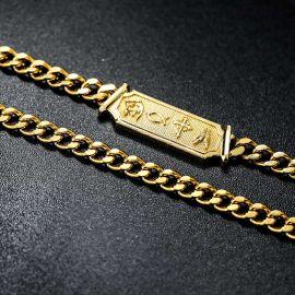 5mm Christian Cuban Necklace