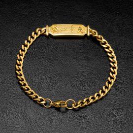 5mm Christian Cuban Bracelet