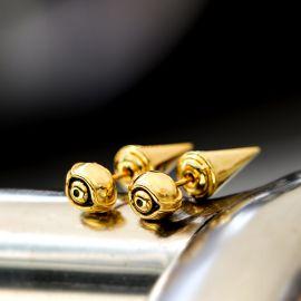 Eye of Ra Cron Stud Earrings