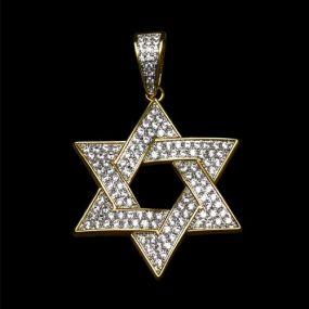 Iced Star of David