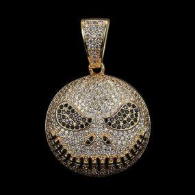Iced Gold Skull