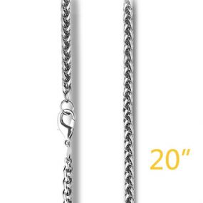 "3mm 20"" Franco Chain"
