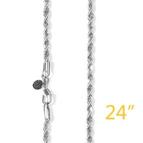 """3mm 24"""" Rope Chain"""