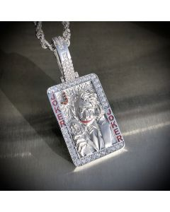 3D Playing Card Pendant