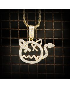 Little Devil Pendant in Gold