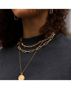 Helical Curb Chain Necklace