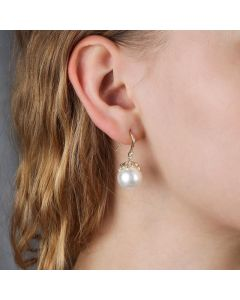12-12.5mm Pearl Hook Earring