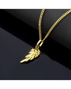 Angel Wings Pendant in Gold